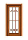 Interior steel wooden door -FX-T006