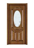 Interior steel wooden door -FX-E608W