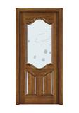Interior steel wooden door -FX-E608B