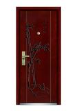 Interior wooden door -FXGM-C317竹报平安