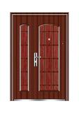 Steel wooden door -十八学士子母