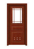 Interior steel wooden door -FX-C301W