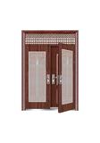Steel wooden door -皇家复合对开