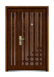 Interior wooden door -FXGM-C319B至尊豪情子母门