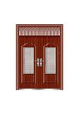Steel wooden door -罗马对开