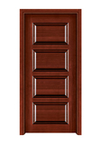 Interior steel wooden door -FX-CN305
