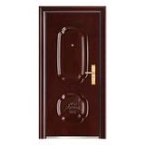 Steel security door -FX-D0101