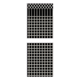 Stainless steel grilles -FX-1257