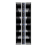 Stainless steel grilles -FX-4184