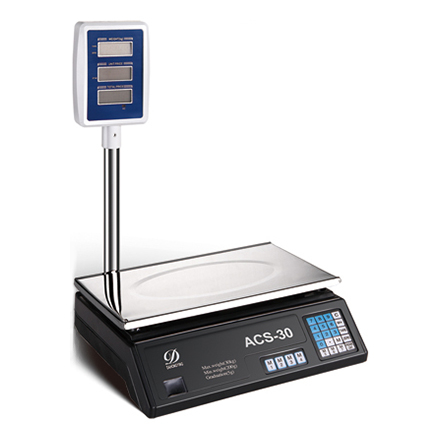 Multi function printing scale,Pricing scale-ACS-D1