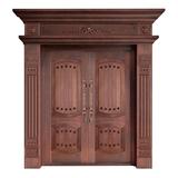 Wood craft bronze door -NW-9023