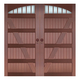 Copper art garage door-TCK-9197