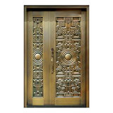 Composite copper art door -ZM-9169