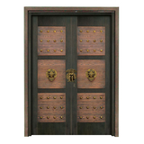 Wood craft bronze door -NW-9028