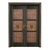 Wood craft bronze door -NW-9028