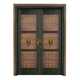 Wood craft bronze door-NW-9028