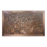 Copper mural -Copper mural-001