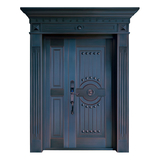 Composite copper art door -ZM-9177