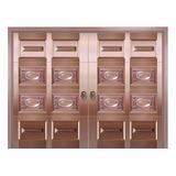 Copper art garage door -TCK-9199