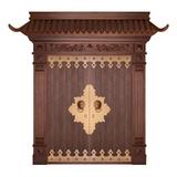 Wood craft bronze door -MW-9025