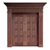Wood craft bronze door -NW-9026