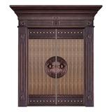 Wood craft bronze door -MW-9029