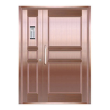 Copper art house apartment door -LY-9162