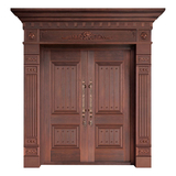 Wood craft bronze door -MW-9027