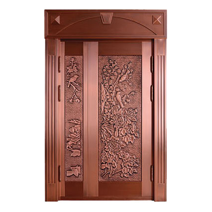 The art of bronze door-YSTD-9019
