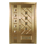 Composite copper art door -ZM-9176