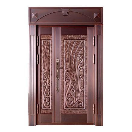 The art of bronze door-YSTD-9016