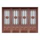 Glass copper art door-BL-9129