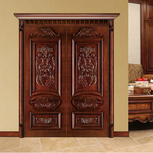 wooden door 01-
