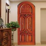 wooden door 09