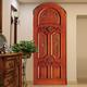 wooden door 09-