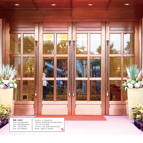 Copper doors and windows 24-