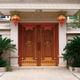 Copper doors and windows 15-