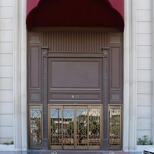 Engineering copper doors and windows 16-