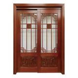New Chinese styleNew wooden door  -MM-208