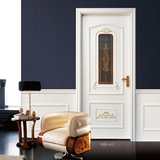 French style wooden door  -MM-412