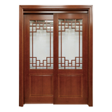 New Chinese styleNew wooden door  -MM-207