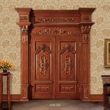 European style wooden door  -MM-302