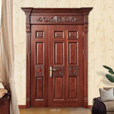 European style wooden door  -MM-303