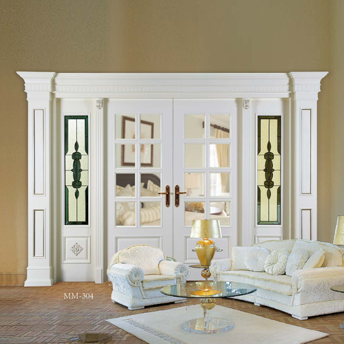 European style wooden door -MM-304