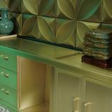 Copper and wood work -BG-011