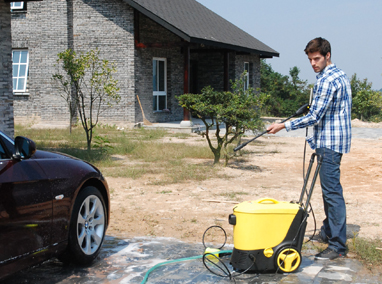 How to use high pressure cleaner