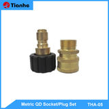 Metric QD Socket/Plug Set-THA-05