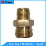 Metric Plug X 3/8 Male Pipe-THA-07
