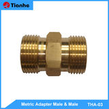 Metric Adapter Male & Male-THA-03