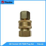 QD Socket 3/8 F&M Plug Set-THA-02